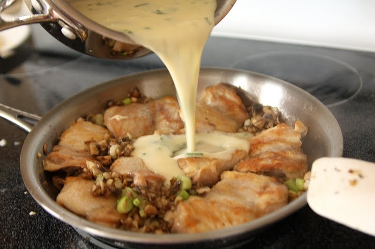 Pan Seared Chicken with Honey Mustard Cream Sauce - using Perdue ...