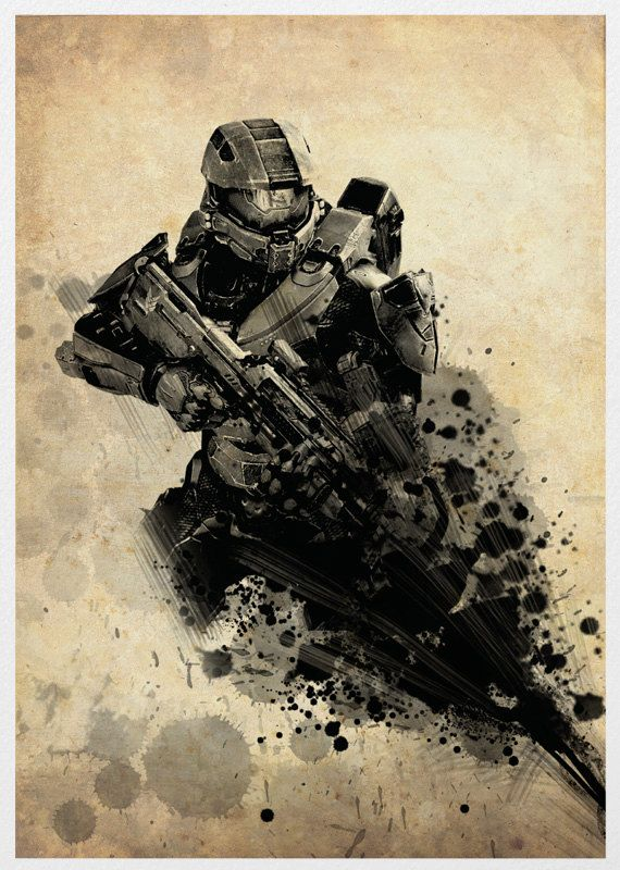 Halo 4 Poster A3 Print