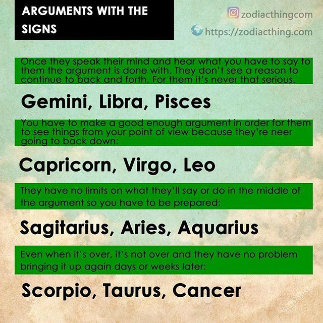 Arguing is a waste of time, communicate without the screaming, rude comments, asshole attitude...freaks me the fuck out! Proud Pisces.
