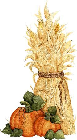 halloween - Halloween Corn Stalks