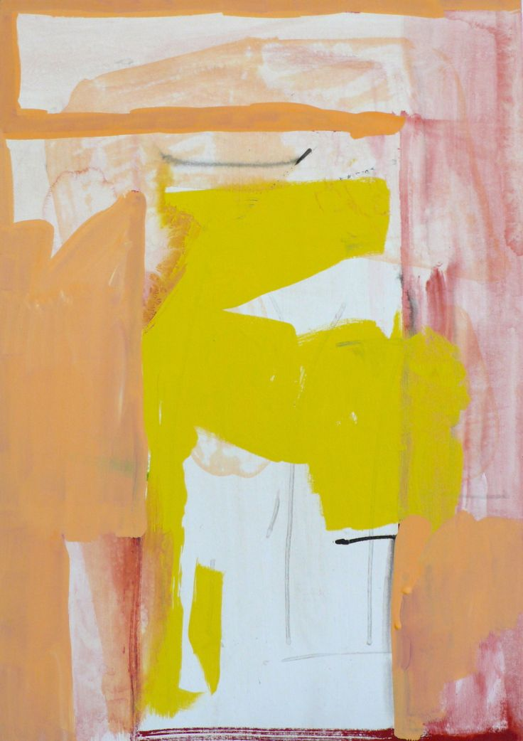vincent hawkins- gouache on card 42.5 x 29. 8 cm or 16.4 x 11. 3/4 inches