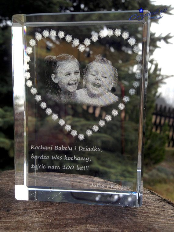 Crystal gift Grandma Birthday Best Grandma by Crystals3DEngraving