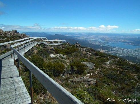 Un essentiel en Tasmanie : le Mt. Wellington (via le guide pour voyageurs à petit budget)
