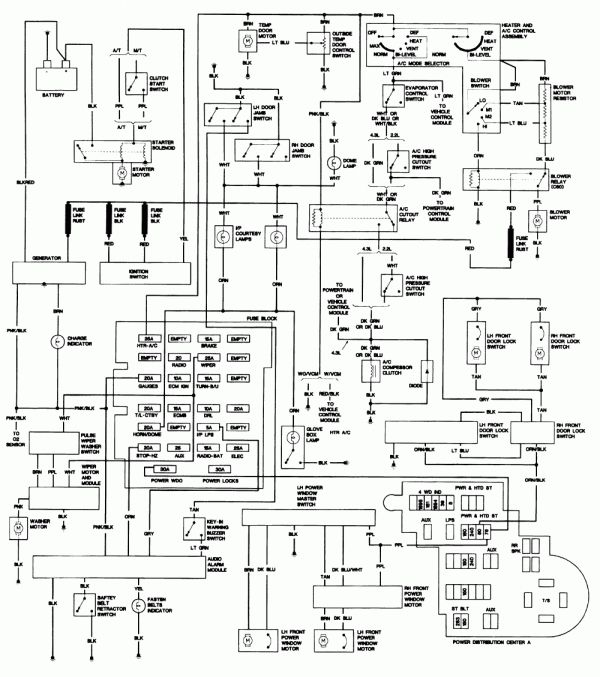 1993 Chevy Truck Wiring Diagram