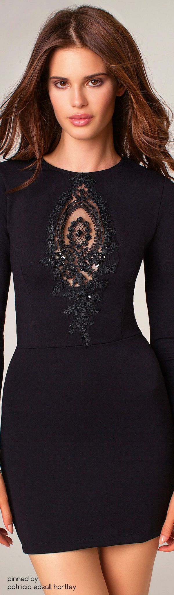Clingy black dresses