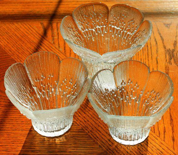 Vintage Lasisepat Finland Votive Candle Holders by MillyCatVintage
