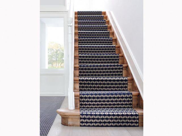 Tapis sur escalier