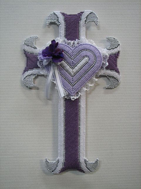 10 best images about plastic canvas angels on pinterest for Cardboard crosses for crafts