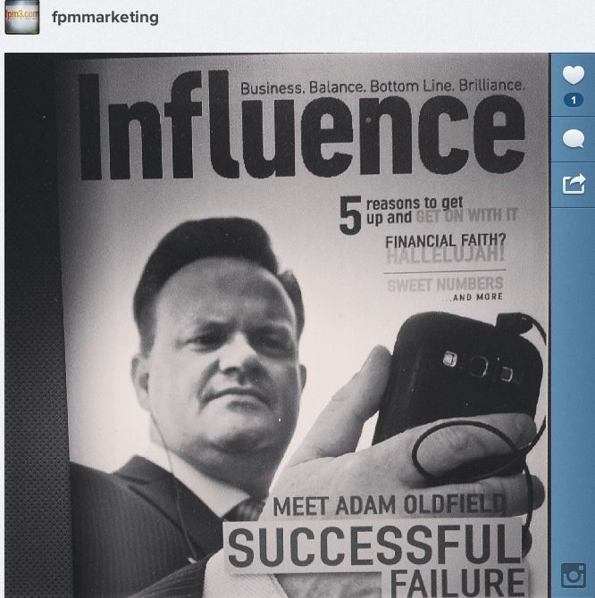 Our President featured in Influence Magazine