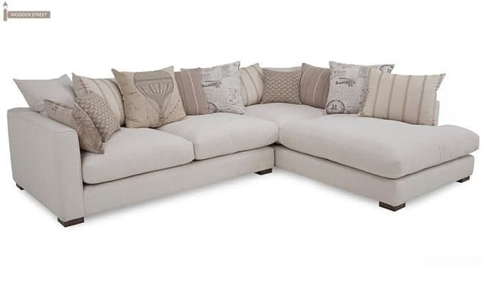 Adler L Shape Sofa White 3 L Shaped Sofa White L Shaped Sofas L Type Sofa