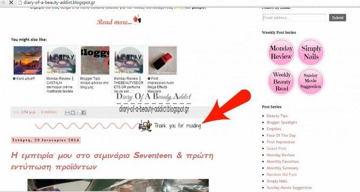 Blogger Tips: Post Divider