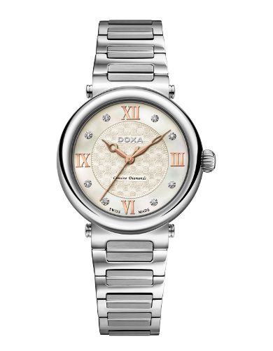 I've got 10% coupon code for sharing this product. Doxa Calex 460.15.052.10 ladies watch