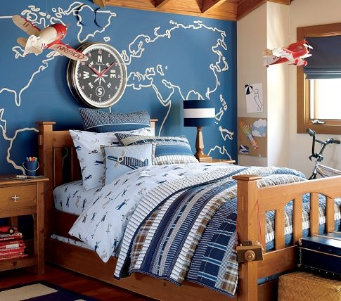 Best World Traveler Boys Room Images On Pinterest Airplane - Boys room with maps