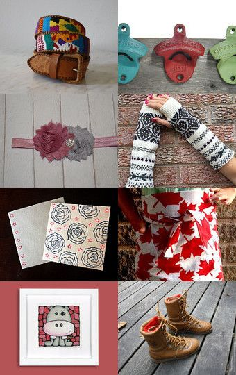 All from Canada by Sarah Davis on Etsy--Pinned with TreasuryPin.com
