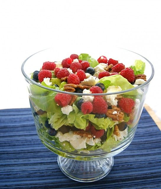 Spring Trifle Salad