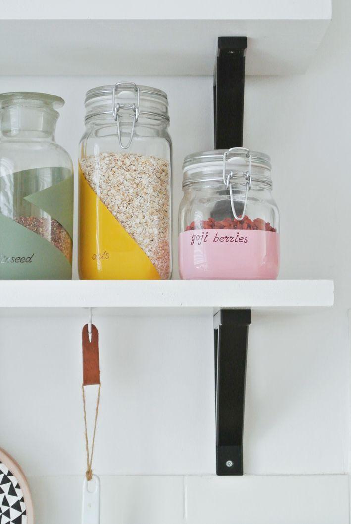 DIY Voorraadpotten | Stek Magazine | Entermyattic | Zelf maken | Etiketten