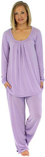 PajamaMania Women's Sleepwear Long Sleeve Pajama Set (PMR1912-2020-MED):   Lightweight and wrinkle-free, this relaxed-fitting pajama set from PajamaMania is luxuriously soft and provides tag free comfort. Sizing information: XS (2-4), S (6-8), M (10-12), L (14-16), XL (18-20); if between sizes, choose smaller size/p