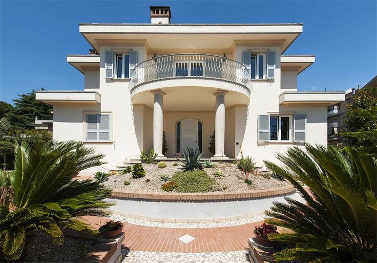 Villa In Liberty Style Recently Built Via Bistagno Rome Italy Luxury Home For Sale