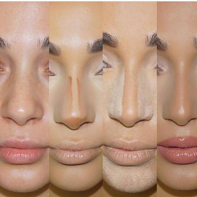Nose contour how to