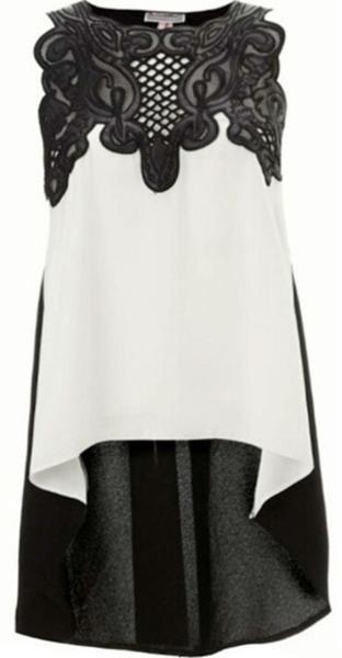 2016 European Style Womens Lace Crochet Chiffon Shirt Sexy Sleeveless Plus Size Blouses Ladies Summer Tops M L XL