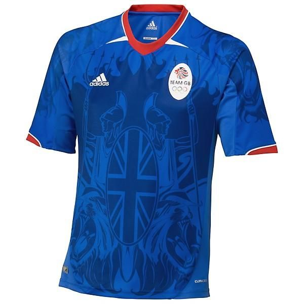 adidas Team GB Supporters Jersey - Collegiate Royal / Air Force Blue / University Red - Kids adidas Team GB Supporters 球衣 - 寶藍 / 藍/ 紅 -童裝  US$48.00 HK$374.40