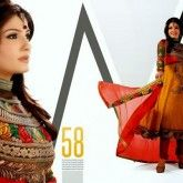 BOLLY Wood Actress Anarkali Embroidered Frocks FOR 2013-2014