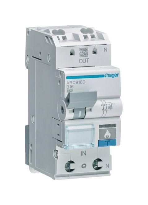 Hager Arc910d Afdd Brandschutzschalter 6ka 1polig N B Charakteristik Elektro Schalter Shops