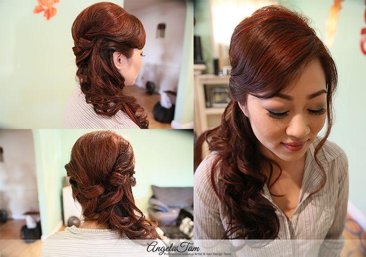 ASIAN BRIDE WEDDING MAKEUP ARTIST   LINH MAKEUP SESSION   ANGELA TAM >> WEDDING MAKEUP AND HAIR TEAM