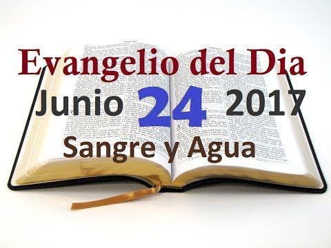 Evangelio del Dia- Sabado 24 Junio 2017- Mi Causa Esta en Tus Manos Señor- Sangre y Agua - VER VÍDEO -> http://quehubocolombia.com/evangelio-del-dia-sabado-24-junio-2017-mi-causa-esta-en-tus-manos-senor-sangre-y-agua    Grupo Sangre y Agua. www.sangreyagua.com  Recuerda que JESUS ES MISERICORDIOSO Y TE AMA INMENSAMENTE!!! SUSCRIBETE a Nuestro Canal para que Veas nuestros Videos Mas Recientes. Muchas Gracias! Créditos de vídeo a YouTube channel