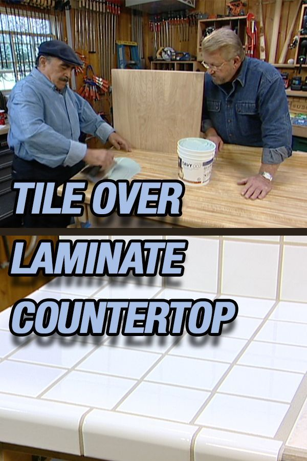 How To Lay Ceramic Tile On A Laminate Countertop Use This