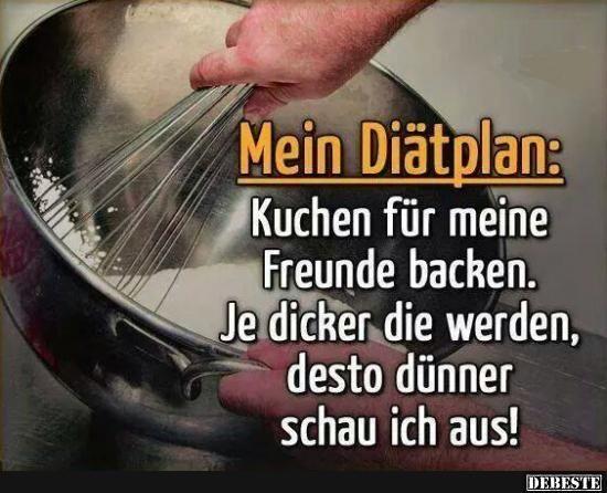 Mein Diätplan | DEBESTE.de, Lustige Bilder, Sprüche, Witze und Videos