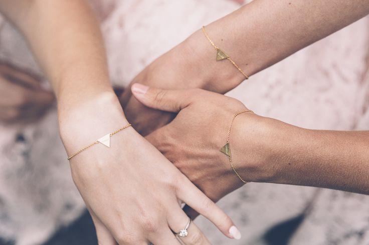 Bridesmaid Thank-you Gifts   Delicate Bracelets   Louise Griffin Photography   http://www.rockmywedding.co.uk/natalie-alex-2/
