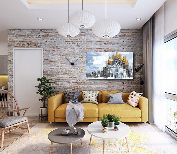 White Church Moscow Art Orthodox Architecture Russian Art Etsy Brick Wall Living Room Brick Interior Wall Brick Wall Bedroom