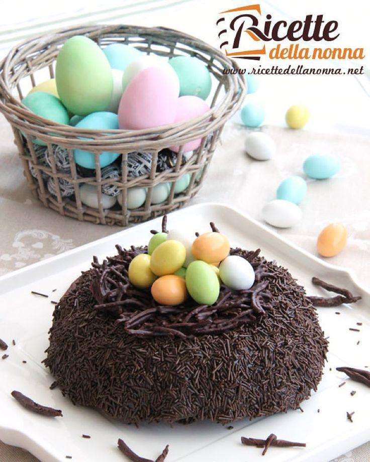 Torta nido di Pasqua al cioccolato  http://ift.tt/1Sju5oS  #torta #chocolate #ricettedellanonna #pasqua #foodporn #foodgasm #cucina #food #cooking #foodstagram #follow #followme #instagood #instalike #instadaily #recipe #italianrecipe #italianfood  #good #love #happy #italy #passione #fotooftheday #foodblogger #chef #beautiful #vscofood