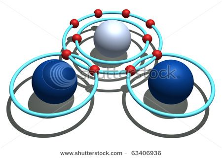 Water Molecule (Chemistry, Atomic Theory)