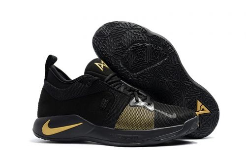 competitive price 765bd ec91a 2018 Nike PG 2 Black and Gold For Sale | Nike and adidas shoes