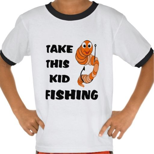 20 best images about fishing gifts for kids on pinterest for Toddler fishing shirts