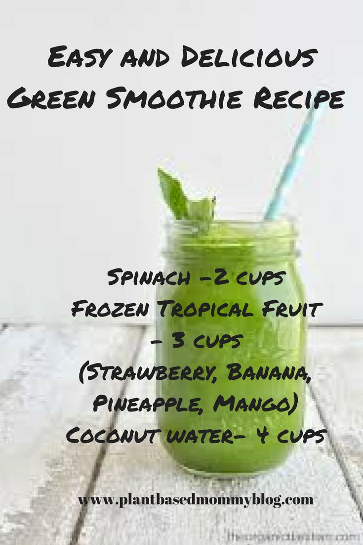 green smoothie, easy recipe, easy smoothie recipe, healthy living