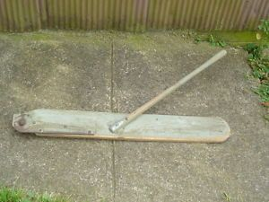Unknown MOULDING SWATH BOARD for SICKLE BAR Hay Mower WOOD SHOE vintage