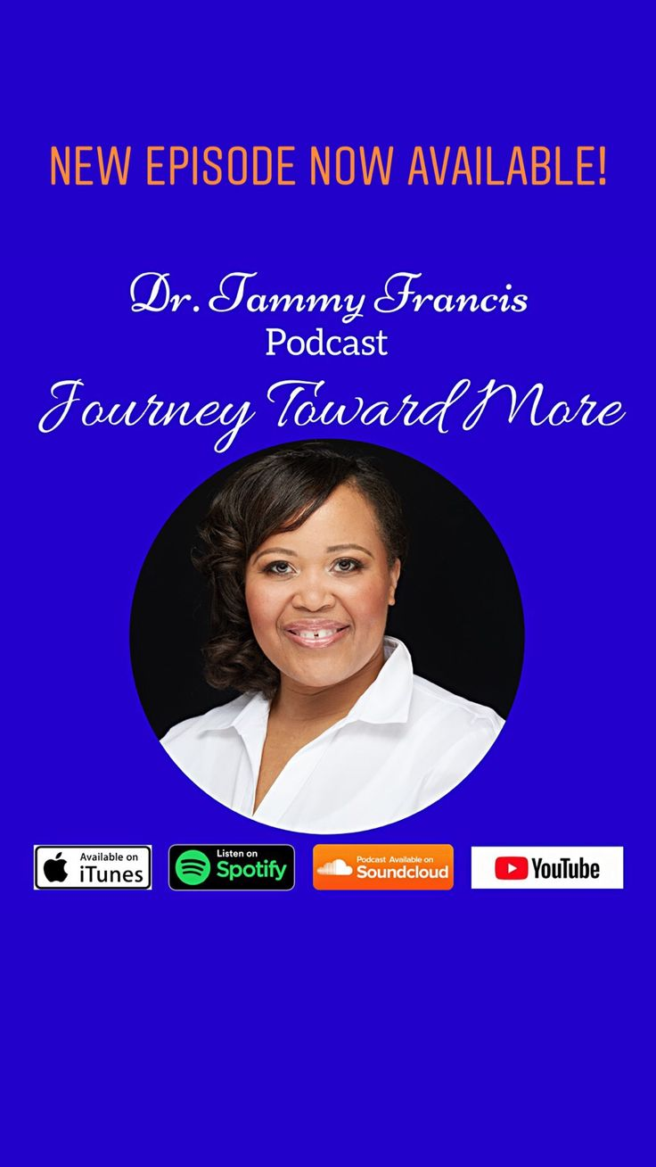 ‪My podcast, Journey Toward More, is now available on