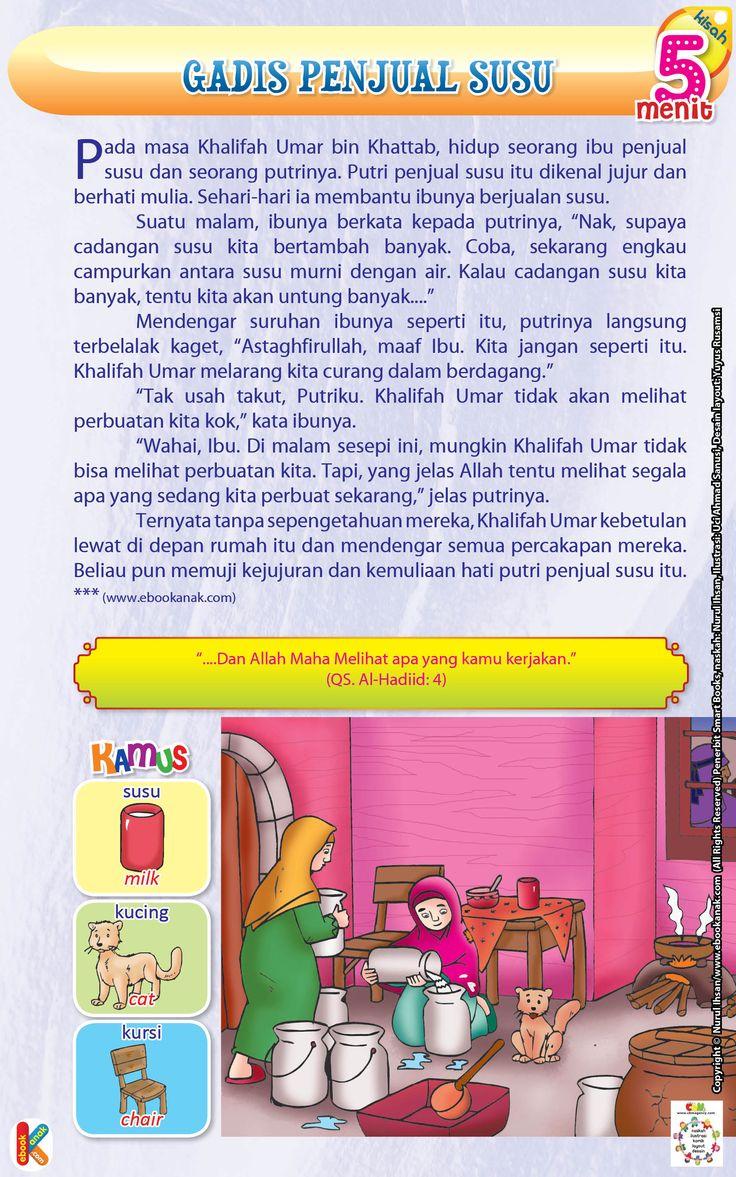 Gadis Penjual Susu | Ebook Anak