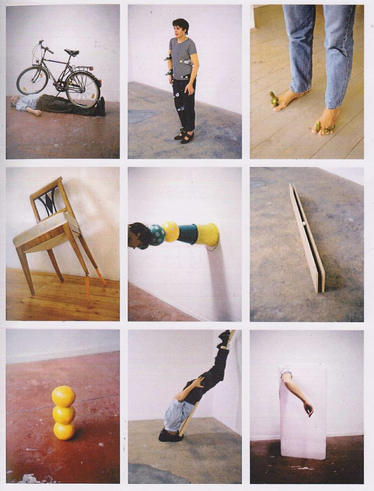 'one minute sculptures' erwin wurm