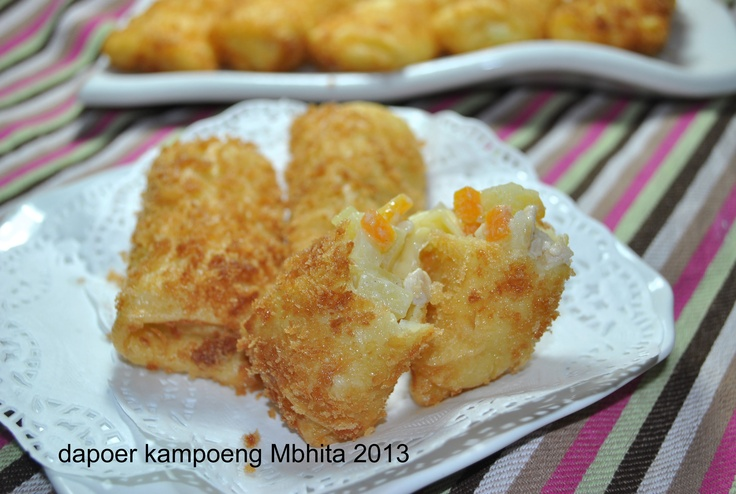 Risoles Rougut Kentang, Ayam dan Wortel
