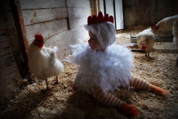 Chicken Funny Kids Halloween Costume