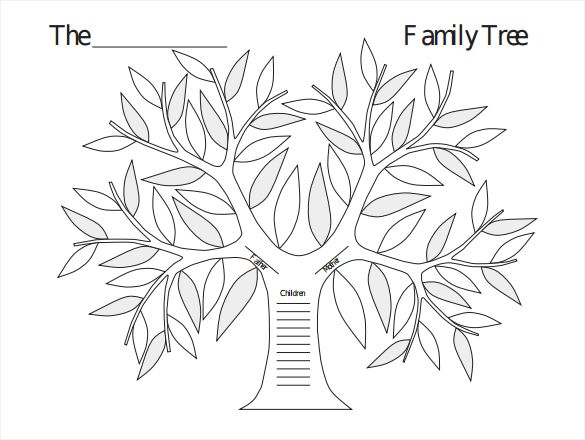 The  Best Blank Family Tree Ideas On   Blank Family