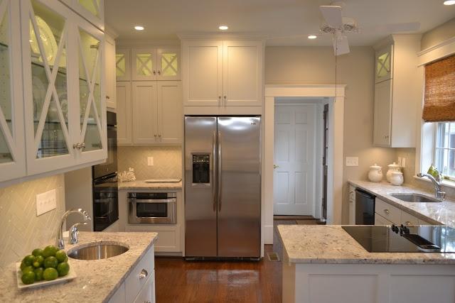 Beautiful small white kitchen