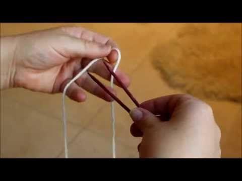 Magischer Maschenanschlag (nach Judy Becker) - YouTube