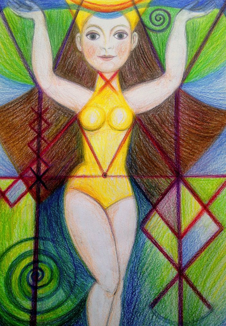 Priestess of Home by Ivana Axman
