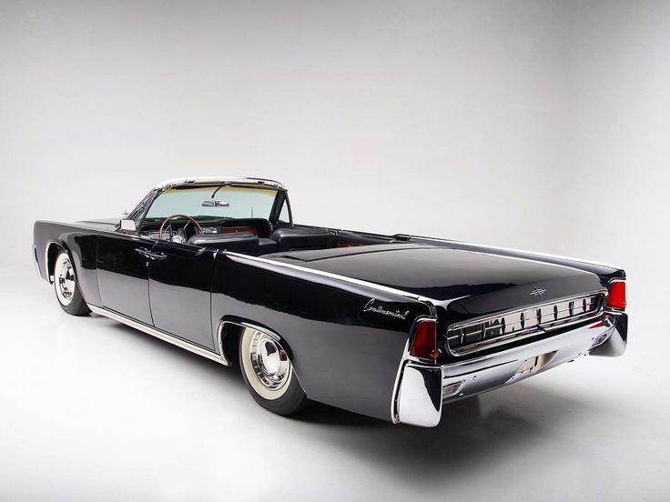 """LincolnMotorCar Showcase on Instagram: """"1963 Lincoln Continental 4-Door Convertible #Lincoln #Continental #LincolnContinental #BlackLincoln #CenterOpeningDoors #SuicideDoors…"""""""