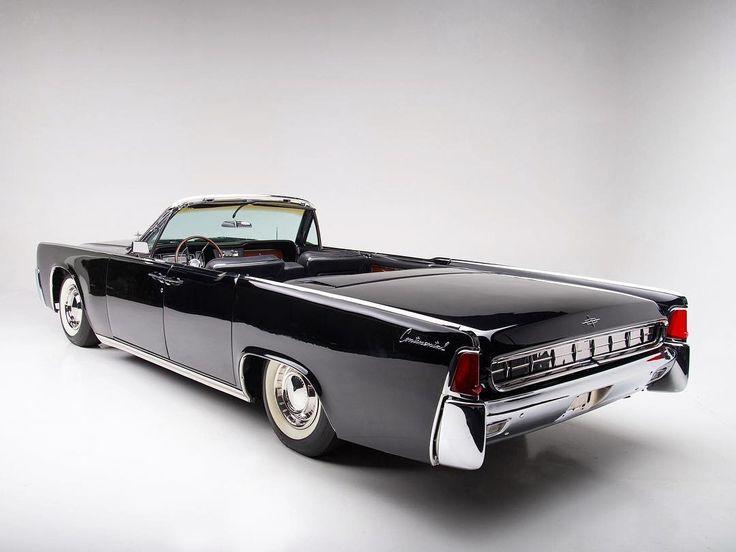 1963 Lincoln Continental 4-Door Convertible